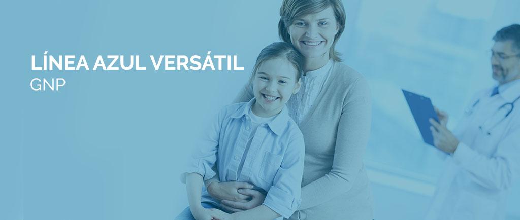 Cuál es el seguro de gastos médicos más económico Línea Azul Versátil